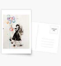 Audrey Hepburn Funny Face Postcards