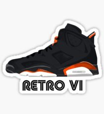 Retro VI Sticker