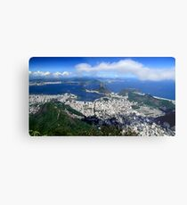 Rio de Janeiro, Brazil Metal Print