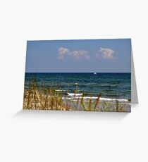 Sailing the Baltic Sea, Sweden Greeting Card