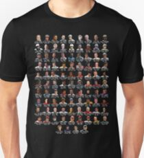 Every F1 Race Winner...on a shirt! Unisex T-Shirt