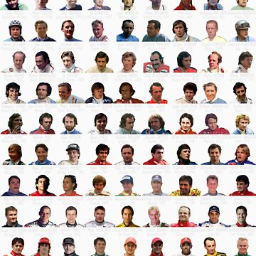 Every F1 Race Winner...on a shirt! by KCulmer