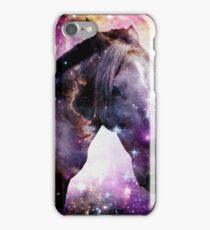 Horse in the Small Magellanic Cloud iPhone Case/Skin