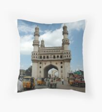 Charminar, Hyderabad, India Throw Pillow