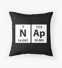 Geeky Kissen, chemische Elemente Nap Dekokissen