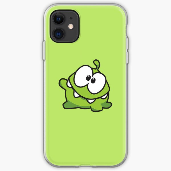 Om nom iPhone Soft Case