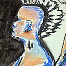 Nude female sketch #3 by bjorksboy