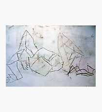 Reclined Figure  Photographic Print