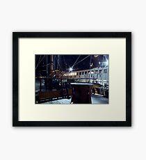Ships of Kings Framed Print