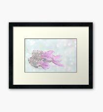Soft dreamy lavender Framed Print