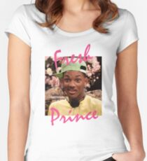 The Fresh Prince Women's Fitted Scoop T-Shirt