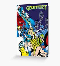 Gaming [Arcade] - Arcade Gauntlet Greeting Card