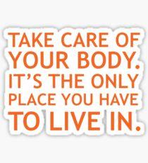 Fitness Motivation Sticker