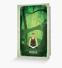 Predator / If it bleeds we can kill it! Greeting Card