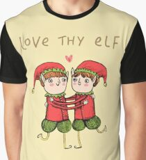Love Thy Elf Graphic T-Shirt