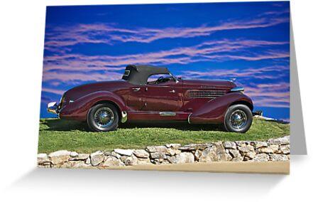 1936 Auburn 'Boat Tail' Speedster I by DaveKoontz
