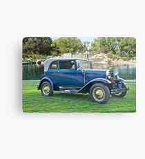 1931 Ford Model A - 400 Convertible Sedan III Metal Print
