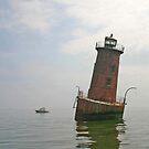 Sharps Island Lighthouse by Jack Ryan
