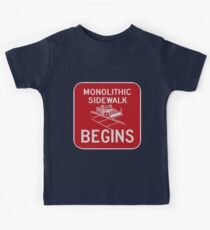 Monolithic Sidewalk Begins Kids Clothes
