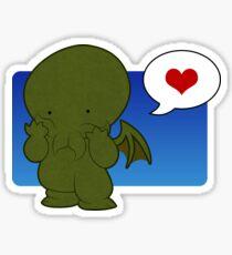 Cute-thulhu Sticker