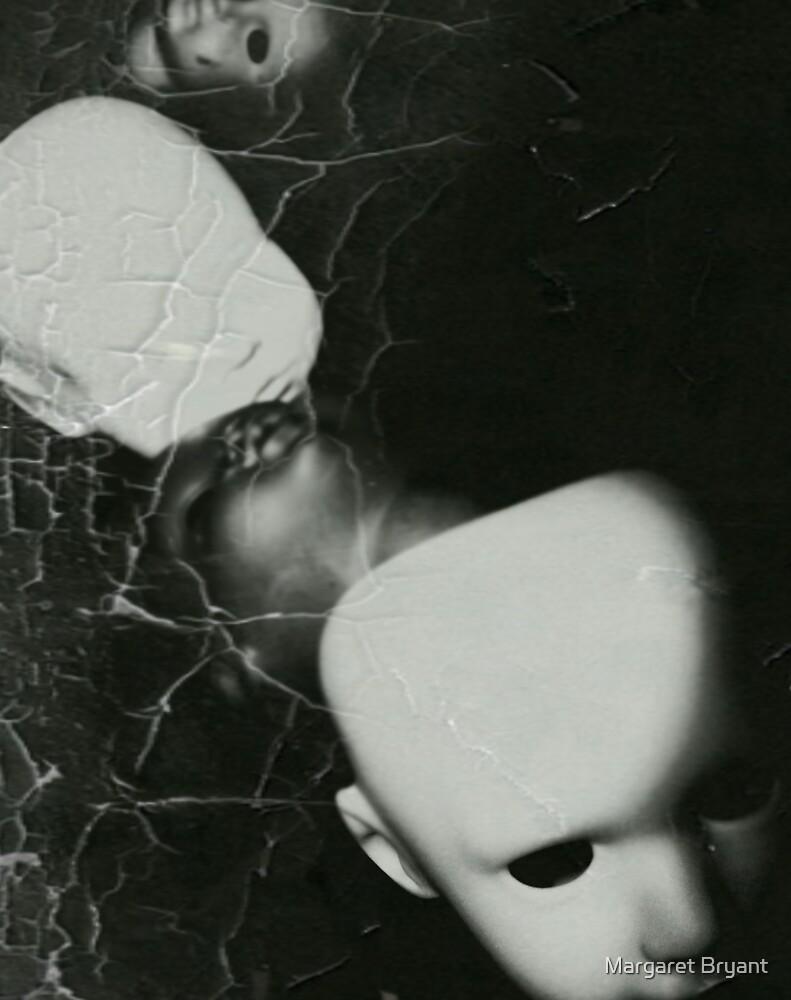 Creepy Dollheads by Margaret Bryant