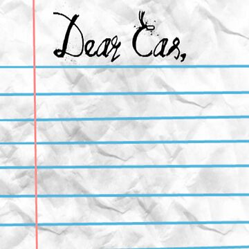 """Dear Cas,"" by sarcasmlock"