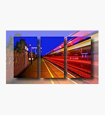 Intercity Triptych Photographic Print