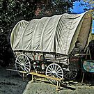 A Covered Wagon, Wild West City by Jane Neill-Hancock