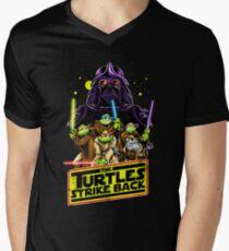 Turtles Strike Back Men's V-Neck T-Shirt