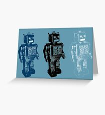 Rise of the Robots Greeting Card