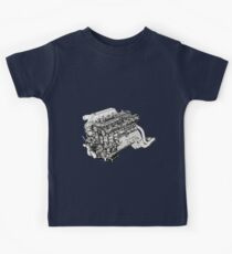 Heart of Gojira Kids Clothes