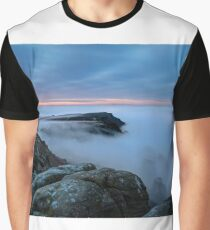 Derwent Valley, Below the Mist Graphic T-Shirt