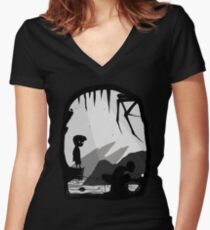 Lord of the Limbo Women's Fitted V-Neck T-Shirt
