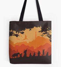 Nine Companions Tote Bag