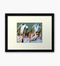 Party Girls Framed Print