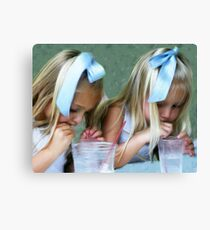 Party Girls Canvas Print