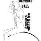 Miley Cyrus: Wrecking Ball - iPhone 5 version by Chrisbooyahh