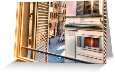 Florence Window by Bruce Taylor