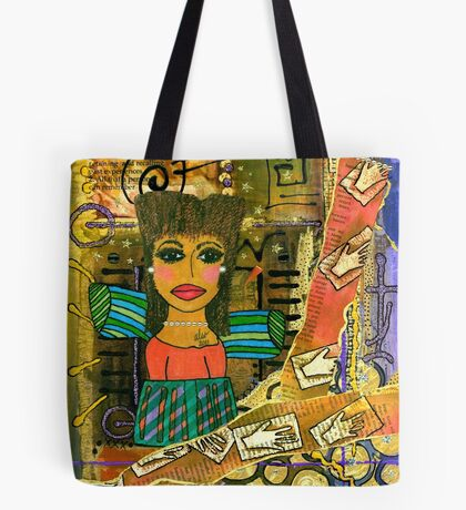 The Angel of Fond Memories Tote Bag