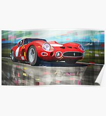 Ferrari 330 GTO 1962 Poster