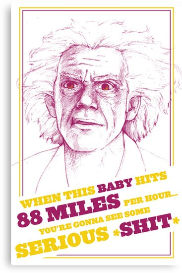 BACK TO THE FUTURE- DOC BROWN by MichelleEatough