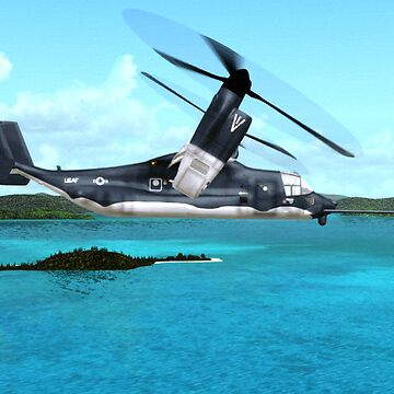 U.S. Air force V-22 Osprey by Skyviper