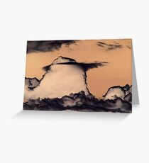 Thunder Cloud Greeting Card