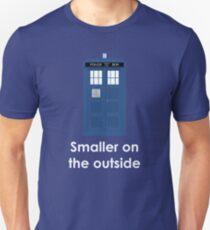Tardis smaller on the outside T-Shirt