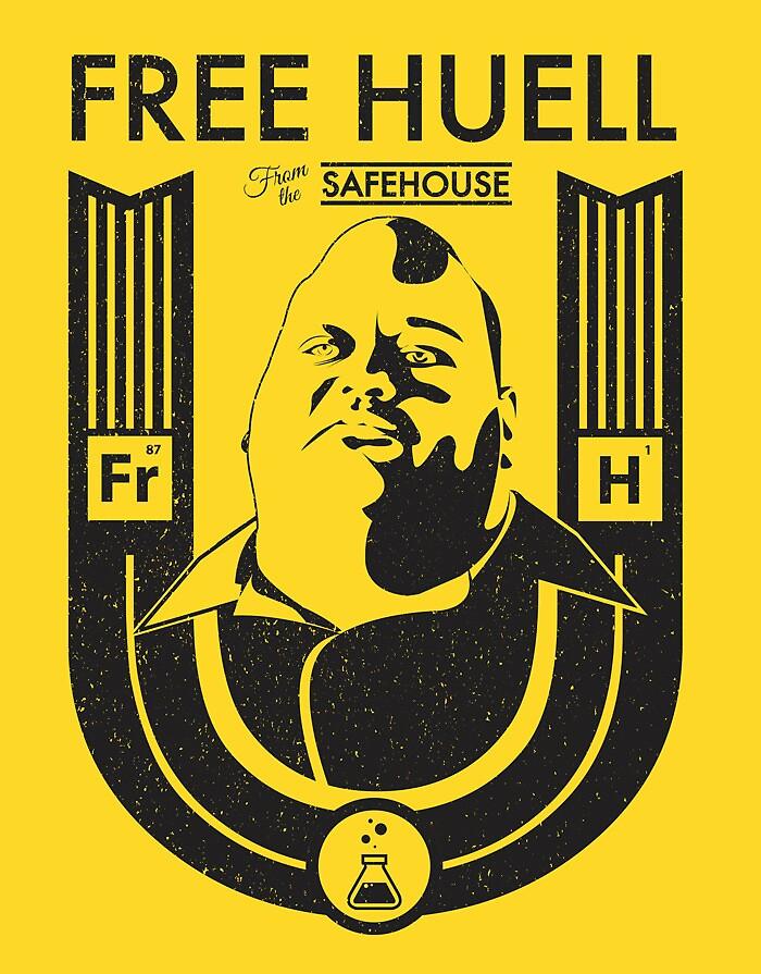 Free Huell by Corey Perkins