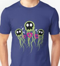 Evil Jellyfish Just Want Love Unisex T-Shirt