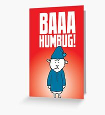 Baaa Humbug! Greeting Card