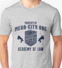 Mega-City 1 Academy shirt T-Shirt