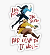 Bad Girls Sticker