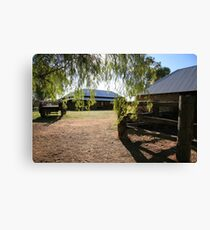 Australian Homestead Canvas Print